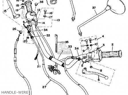 yamaha xs360 2 1977 usa parts lists and schematics. Black Bedroom Furniture Sets. Home Design Ideas