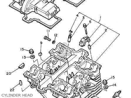 Yamaha Xs400 1982 Maxim Usa Parts Lists And Schematics