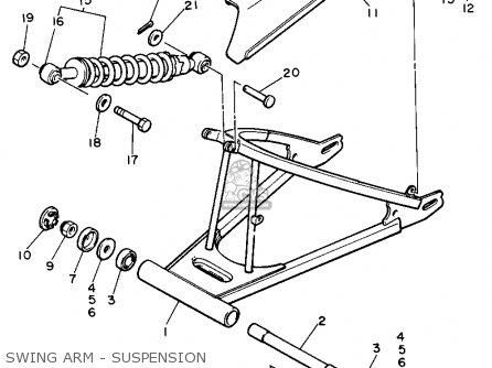 Yamaha Xs400 1982 Maxim Usa Swing Arm - Suspension