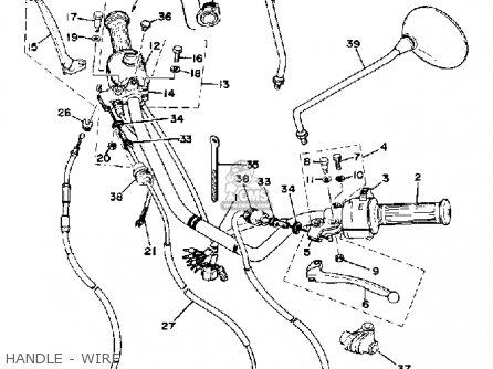 1974 kz1000 wiring diagram yamaha xs400-2e 1978 parts list partsmanual partsfiche
