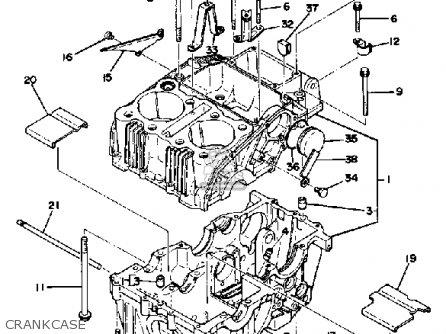 yamaha xs400 2f 1979 parts list partsmanual partsfiche. Black Bedroom Furniture Sets. Home Design Ideas