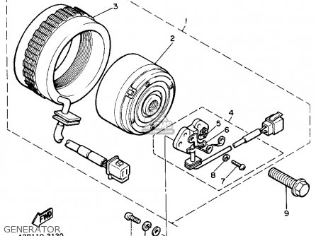 Yamaha Xs400 Maxim 1982 c Usa Generator
