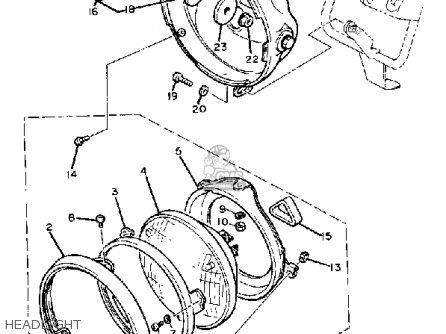 Xs400 Headlight Diagram