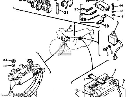 1983 Yamaha Maxim 750 Wiring Diagram as well Onan Ignition Switch Wiring Diagram together with Yamaha Kodiak 400 Wiring Diagram besides 8065 together with Partslist. on xs yamaha wiring diagrams