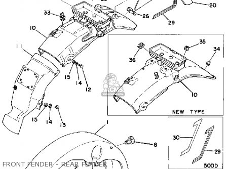 yamaha xs500 1977 usa front fender rear fender_mediumyau0811d 6_b0e7 fuse for solar panel fuse find image about wiring diagram,Wiring Combiner Bo To