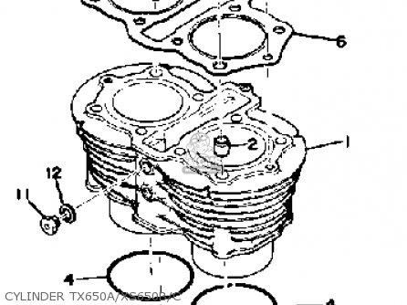on yamaha xs650 wiring schematic