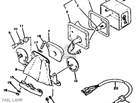 Yamaha Xs650 2 1979 Usa Parts Lists And Schematics