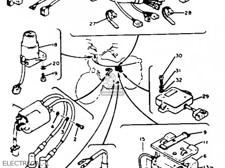 1984 Yamaha Qt50 Wiring Diagram on mercury outboard fuel pump diagram