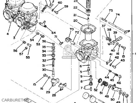 Yamaha 80 Carburetor Diagram