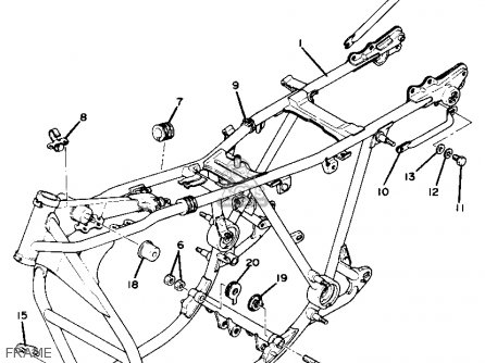 Yamaha Xs Parts Fiche