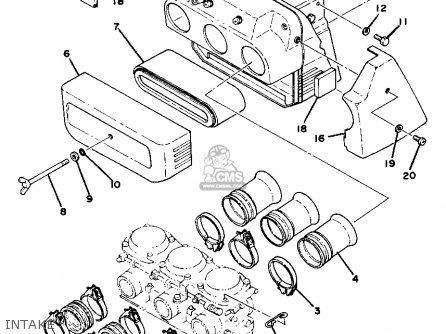 Yamaha 750 Triple Engine