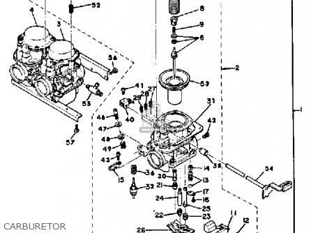 Yamaha Xs850g 1980 Carburetor