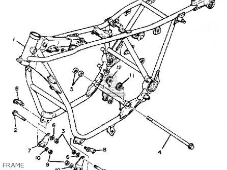 Yamaha Xs850g 1980 Frame