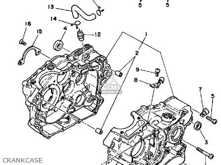Yamaha 660 Engine Diagram Yamaha Banshee Engine Diagram