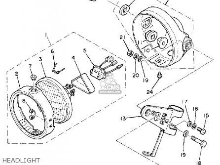 1986 yamaha virago wiring diagram 1986 yamaha yz125 wiring