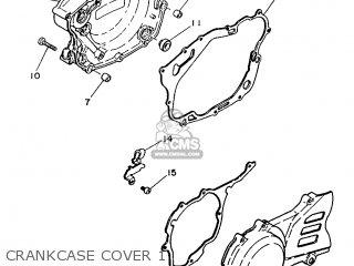 yamaha xt350 1986 55v france 2655v 351f1 parts lists and schematics 1989 Yamaha XT350 yamaha xt350 1986 55v france 2655v 351f1 crankcase cover 1 crankcase cover 1 yamaha xt350 1986