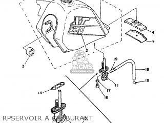 yamaha xt350 1986 55v france 2655v 351f1 parts lists and schematics 2008 Yamaha XT350 yamaha xt350 1986 55v france 2655v 351f1 rpservoir a carburant rpservoir a carburant yamaha xt350 1986