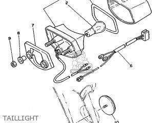 yamaha xt350 1986 55v france 2655v 351f1 parts lists and schematics 1982 Yamaha XT350 yamaha xt350 1986 55v france 2655v 351f1 taillight