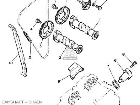 yamaha xt350 dual purpose 1986 g usa parts lists and schematics 1985 Yamaha XT350 yamaha xt350 dual purpose 1986 g usa camshaft chain