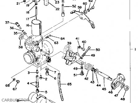 Yamaha Xt500 1977 Dual Purpose Usa Canada Parts Lists And Schematics