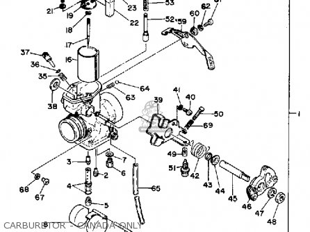 Yamaha Xt500 1979 Usa Canada Parts Lists And Schematics