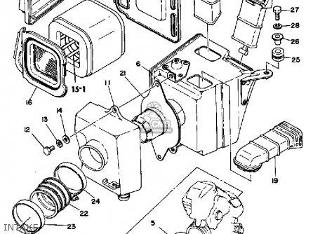 Yamaha Xt500 1980 Dual Purpose Usa Parts Lists And Schematics