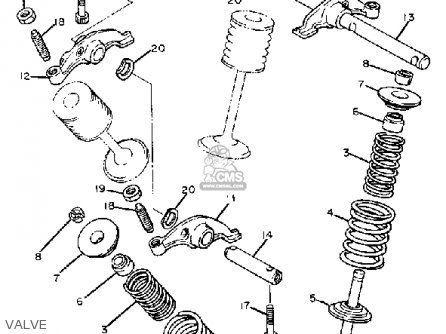 Yamaha Xt550 Dual Purpose 1983 D Usa Parts Lists And Schematics