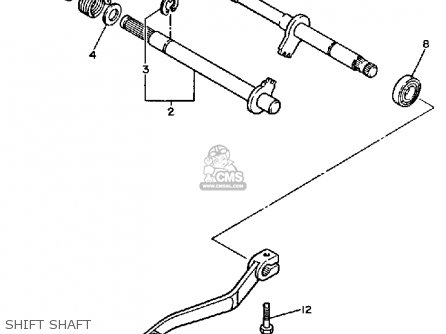 Yamaha Xt Dual Purpose E Usa Shift Shaft Mediumyau C Cdda on yamaha enduro headlight switch diagram