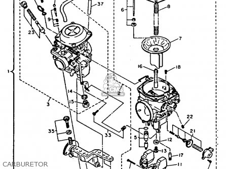 Yamaha 1100 Wiring Diagrams