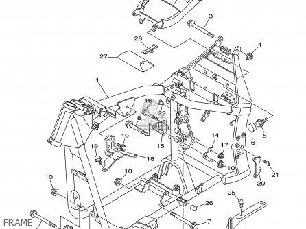 Yamaha Xv1600a Xv1600ac Road Star 2000 Y Usa California Parts