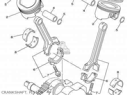 Yamaha Xv1600a Xv1600ac Road Star 2001 1 Usa California Parts