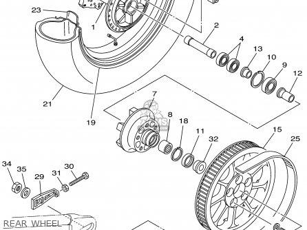 1996 yamaha virago wiring diagram yamaha virago charging