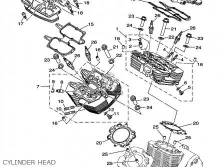 Yamaha Royal Star Venture Carburetor Diagram in addition T1259919 Quad question 1998 yamaha warrior 350 further 2003 Yamaha Road Star Wiring Diagram also Suzuki Sv650 Engine further ST Z15 K  Service Manual P 3765. on roadstar wiring diagram