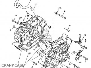 Yamaha Xv240 1989 3kf1 France 293kf-351f1 Crankcase