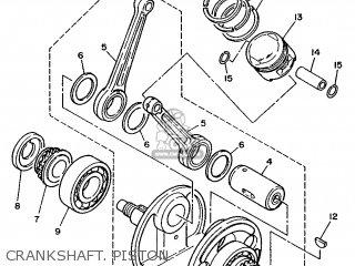 Yamaha Xv240 1989 3kf1 France 293kf-351f1 Crankshaft  Piston