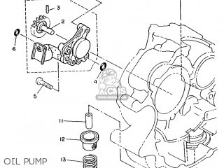 Yamaha Xv240 1989 3kf1 France 293kf-351f1 Oil Pump