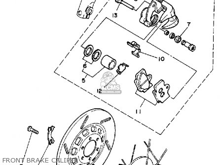 Wiring Diagram For Yamaha Moto 4