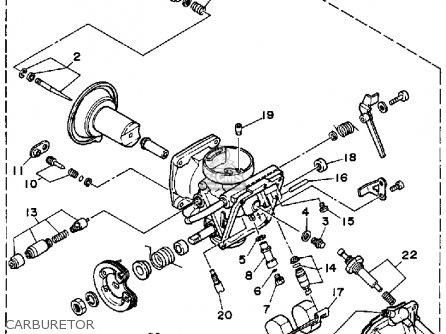 yamaha xv250 route 66 1988  j  usa parts list partsmanual