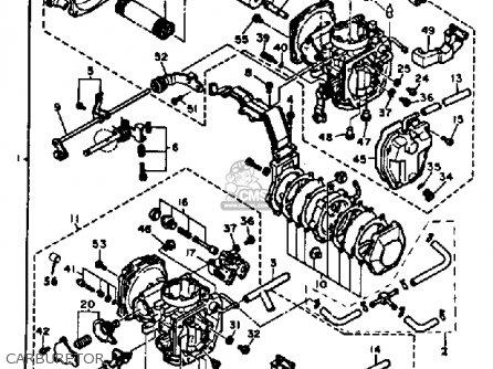 Yamaha Xv500k Virago 1983 Carburetor