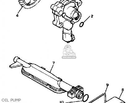 Yamaha Xv500k Virago 1983 Oil Pump