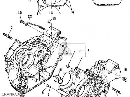 yamaha xv700c 1986  g  usa parts list partsmanual partsfiche