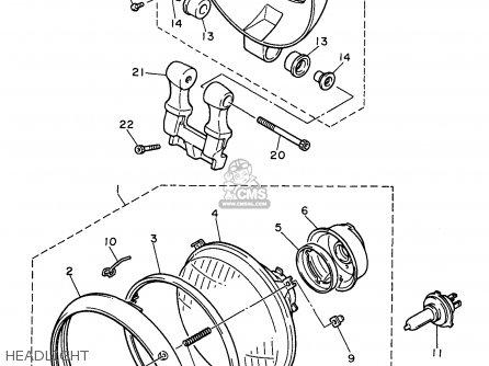 Honda Motorcycle Diagram Drawing