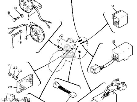 yamaha xv750 virago 1981 b usa electrical 2_mediumyau0896g 7_e27f 1979 honda 750 wiring diagram 1979 find image about wiring,Honda Cb 650 Wiring Diagram