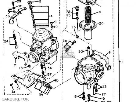 Yamaha Xv920m Virago 1983 d Usa Carburetor