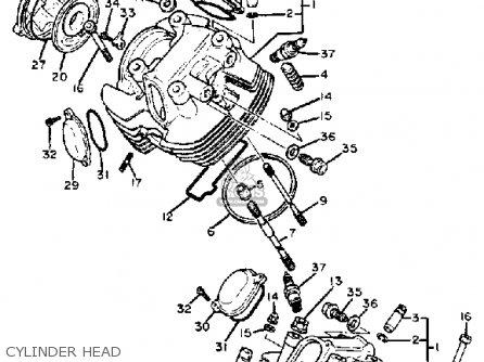 Yamaha Xv920m Virago 1983 d Usa Cylinder Head