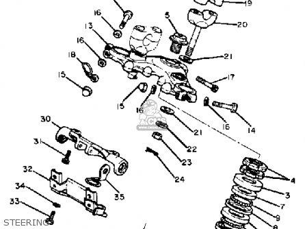 Yamaha Xv920mk 1983 Steering