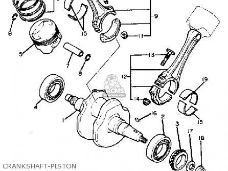 yamaha xv920r virago 1982  c  usa parts list partsmanual