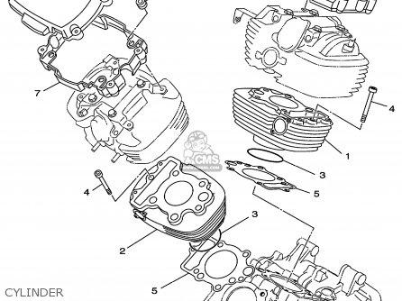 Yamaha Xvs650 Xvs650c Vstar Custom 1999 X Usa California Parts