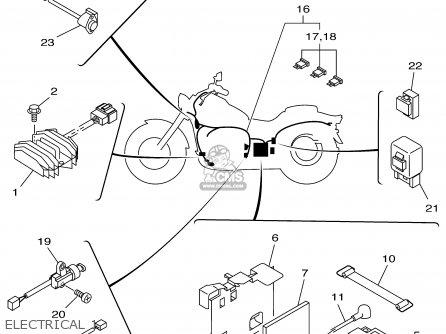 Yamaha 3000 Generator >> Yamaha Xvs650a Xvs650ac Vstar Classic 2001 (1) Usa California parts list partsmanual partsfiche