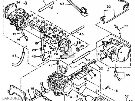 1997 dodge dakota carburetor diagram